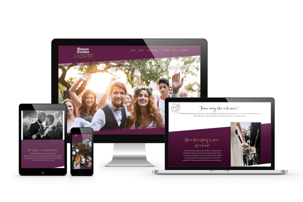 Sharon Gordon Celebrant Website